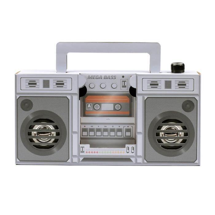 Haut-parleur Retro Touch Boombox