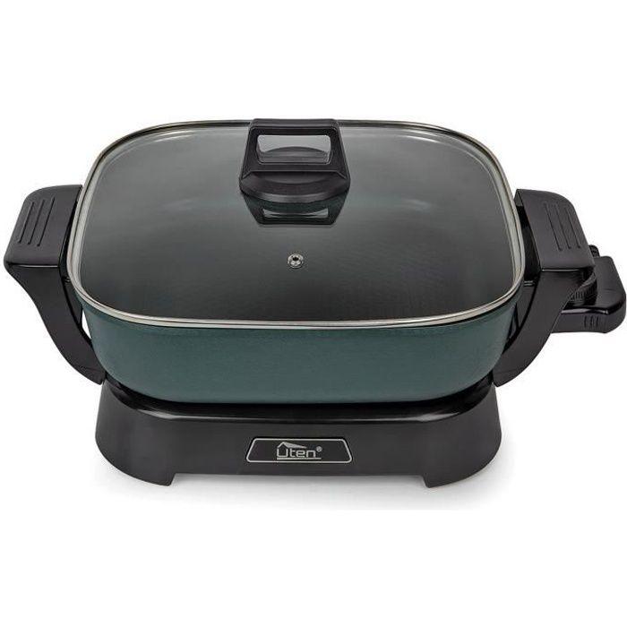Fondue électrique Hot Pot-UTEN- Service à fondue/ Appareil de cuisson multifonction Poêle électrique Cuiseur