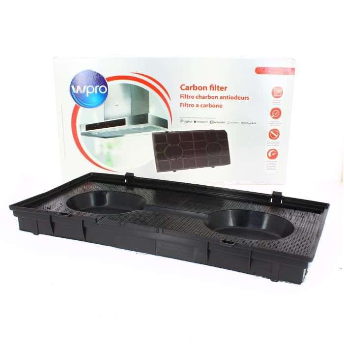 WPRO - Filtre charbon rectangulaire type 190 pour Hotte
