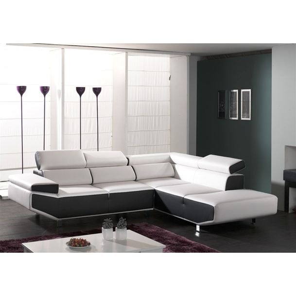 canape fly pu angle droit achat vente canap sofa. Black Bedroom Furniture Sets. Home Design Ideas