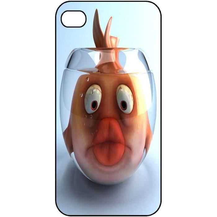 Coque protection iphone 5c poisson bocal 168 achat coque for Bocal a poisson pas cher