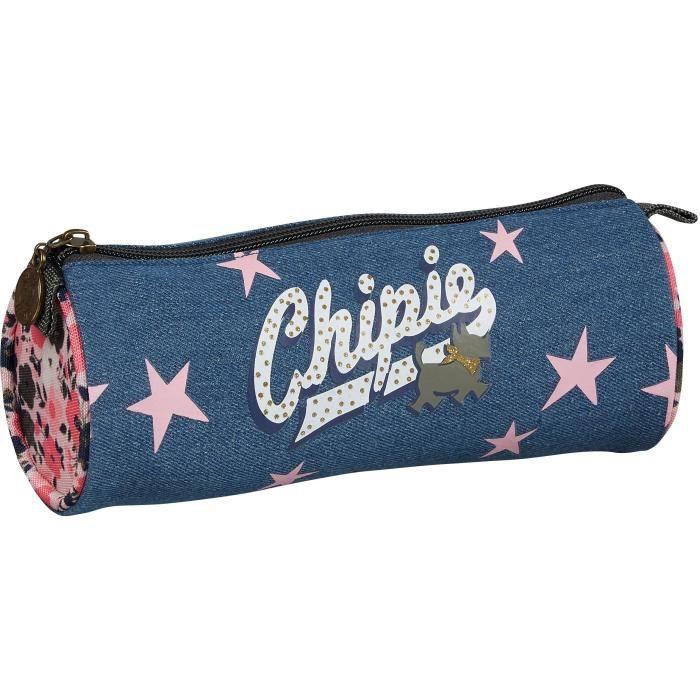 1pc Chips Trousse pour l/école Fournitures Scolaires Kawaii Papeterie Pencilcase Plumier Sac Crayon 29.5cm 20.5cm