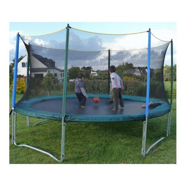 filet de protection pour trampoline. Black Bedroom Furniture Sets. Home Design Ideas