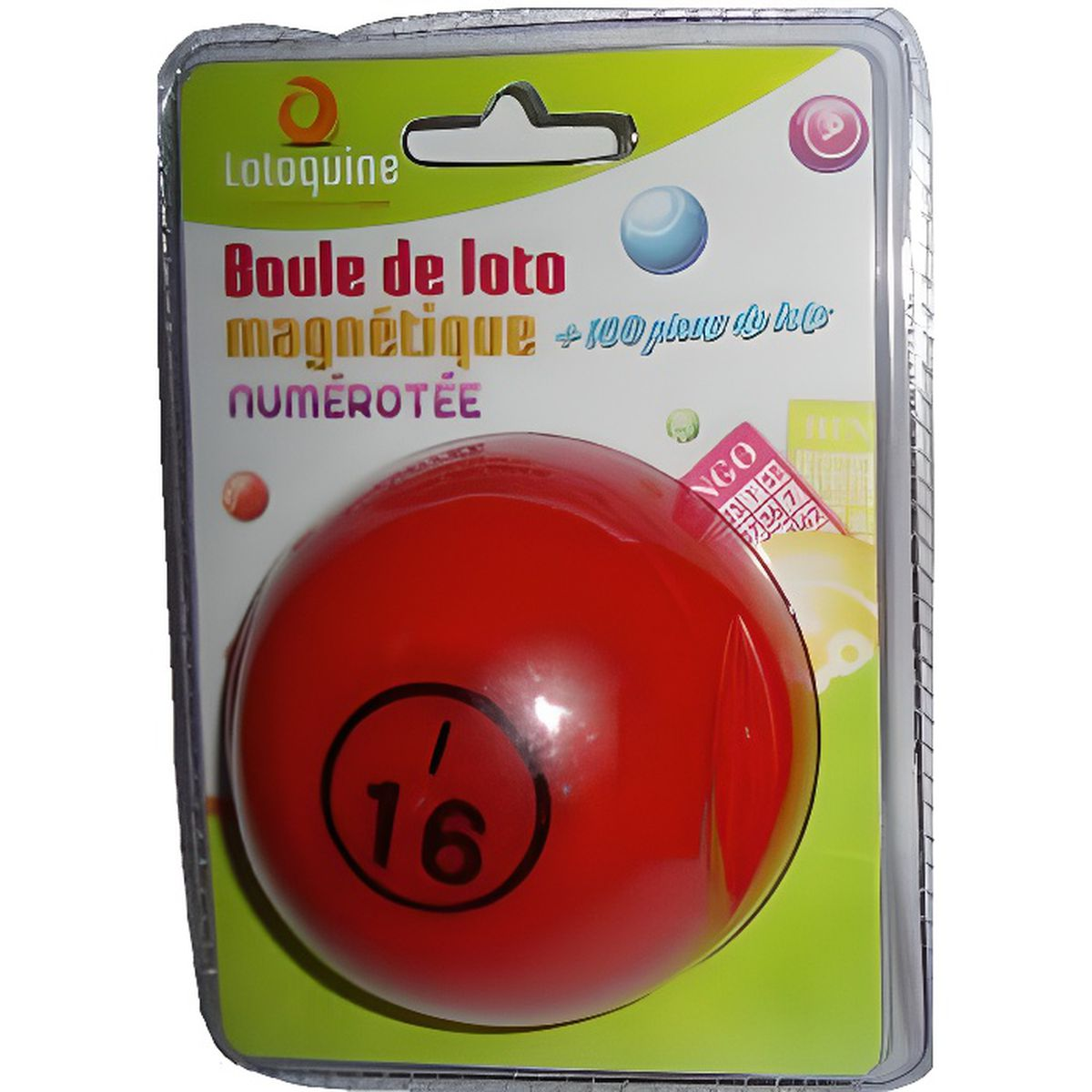 boule de loto magntique numerotee rouge avec 100 pions magnetiques achat vente loto bingo. Black Bedroom Furniture Sets. Home Design Ideas