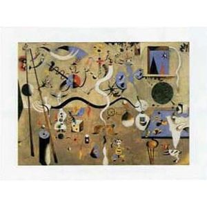 Reproduction joan miro achat vente reproduction joan for Joan miro interieur hollandais