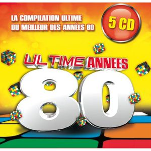 ultime annees 80 compilation 5 cd achat cd cd compilation pas cher. Black Bedroom Furniture Sets. Home Design Ideas