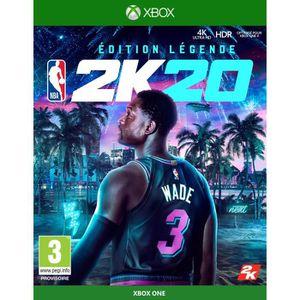 JEU XBOX 360 NBA 2K20 Édition Légende Jeu Xbox One