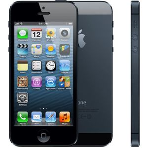 iphone 5 noir