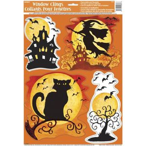 Decoration sorciere achat vente decoration sorciere for Decoration murale halloween