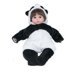 POUPÉE 45cm poupée bébé en silicone réaliste à la main no