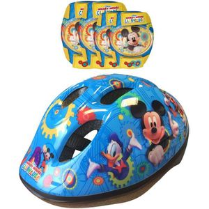 KIT PROTECTION MICKEY Combo Set de Protection Casque + Coudières/