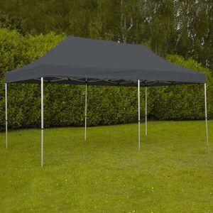 TONNELLE - BARNUM Tente pliante pro 3x6 m Grise