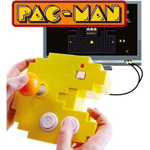 JEU CONSOLE RÉTRO Bandai - Pac-Man - Console jaune connect & play (1
