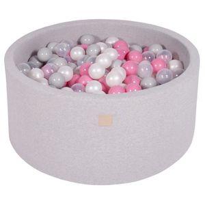 PISCINE À BALLES MeowBaby 90X40cm/300 Balles ∅ 7Cm Piscine À Balles