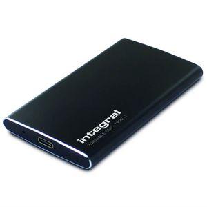 DISQUE DUR EXTERNE Integral - SSD Portable 120 Go, USB 3.1 Gen2 & Typ