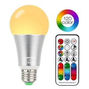 AMPOULE - LED ChangM Ampoule E27 Led RGBW,10W Ampoules de Couleu