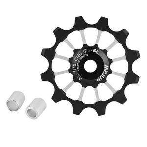DÉRAILLEUR Roue de guidage de vélo, 12T jockey roues poulie V