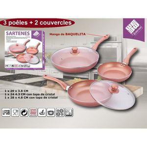 Chef Aid éclaboussures garde 24 Cm Poêles et Casseroles Accessoire Cuisine Maison Nouveau