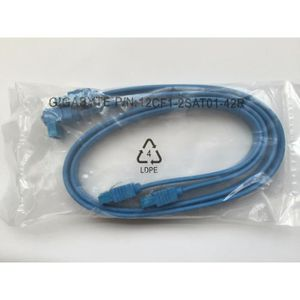 CÂBLE E-SATA 2 x Càble SATA 3 - Original Light Blue - 6Gb par c