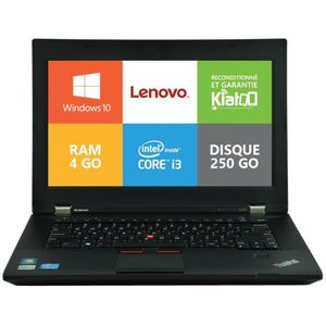 PC RECONDITIONNÉ Ordinateur portable LENOVO thinkpad l430 intel cor