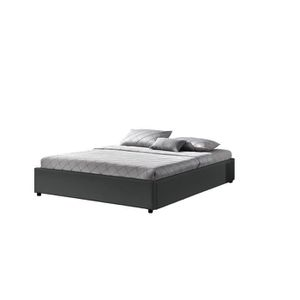 lit coffre 160 achat vente lit coffre 160 pas cher soldes cdiscount. Black Bedroom Furniture Sets. Home Design Ideas