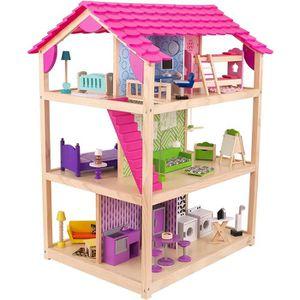 MAISON POUPÉE KIDKRAFT - Maison de poupées en bois So Chic