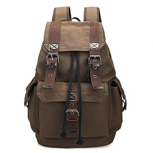 ac37286677 SACOCHE Canvas Backpack School Rucksack Hommes Sacs à dos ...