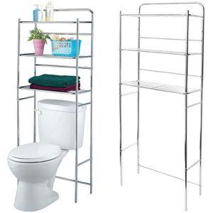 COLONNE - ARMOIRE WC Etagère Pour Toilettes Et WC Rangement Trois Nivea