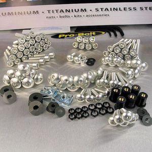 Kit Visserie Bulle CBR 1100 XX aluminium