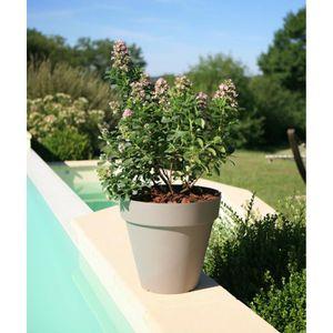 JARDINIÈRE - BAC A FLEUR RIVIERA Pot de fleurs Soleilla - Rond - Ø 39,2 x 3