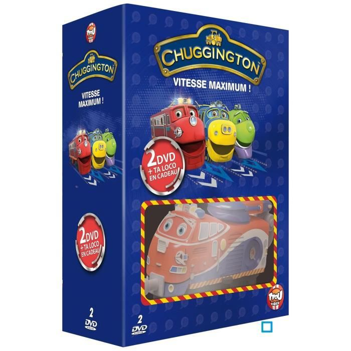 Dvd coffret chuggington vitesse maximum en dvd dessin - Chuggington dessin anime ...
