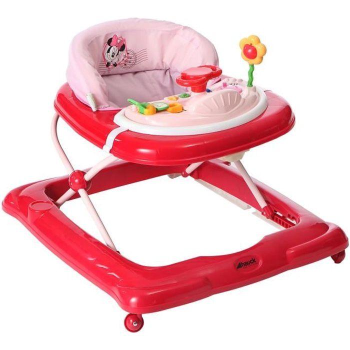 MINNIE Trotteur bébé Player Rose - Disney Baby