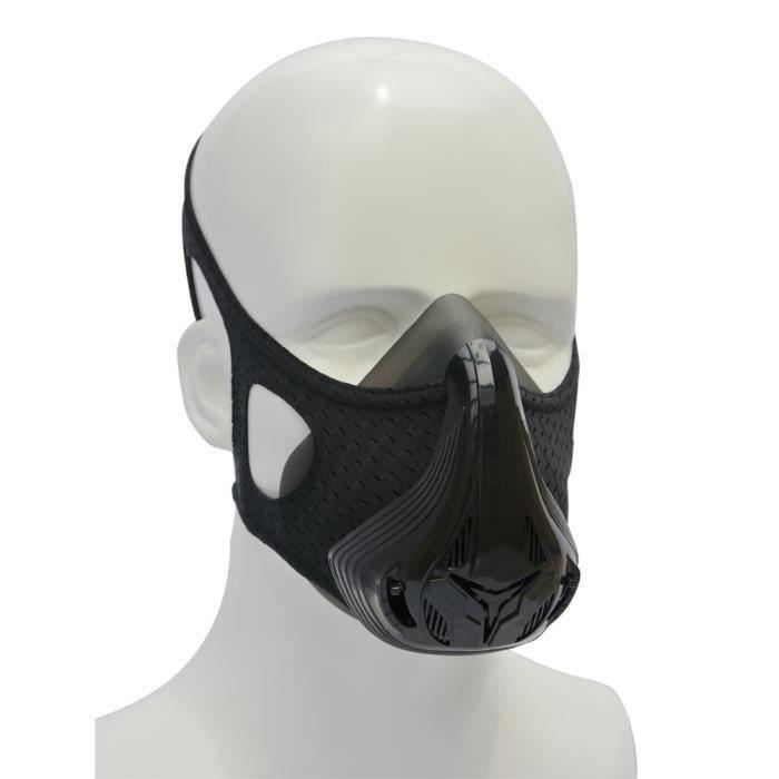 KirinSport Training Mask Masque d'entraînement Résistance de Cardio Fitness Course à Pied Sports Crossfit Haute intensité