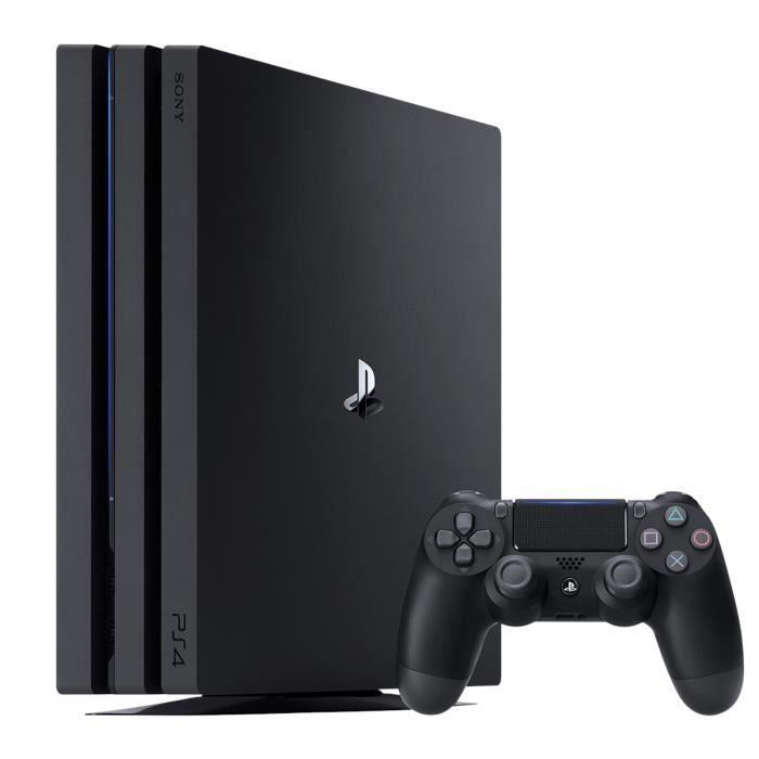 Console PS4 Pro 1To Noire/Jet Black - Reconditionnée - PlayStation Officiel