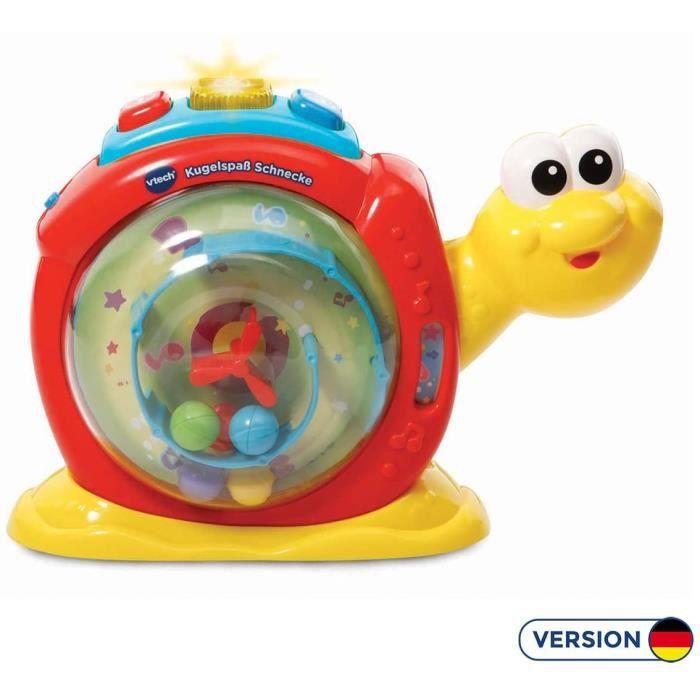 Jouets musicaux VTech Baby 80–502404 – Boule Plaisir Escargot 176181