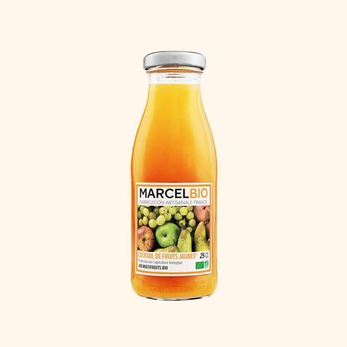 Marcel Bio - Cocktail de Fruits Jaunes Bio 25cl