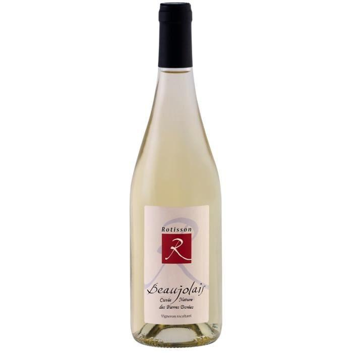 Domaine de Rotisson cuvée -Nature des pierres dorées- 2018 Côteaux Bourguignons vin Blanc Bourgogne