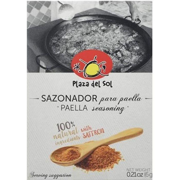 Epices pour paella, Plaza del Sol
