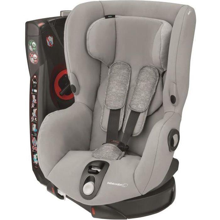 BEBE CONFORT Siège Auto Axiss, Pivotant, De 9 mois à 4 ans, inclinable, Nomad Grey