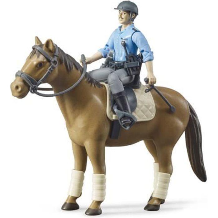 Policier à cheval bworld - Bruder - 62507