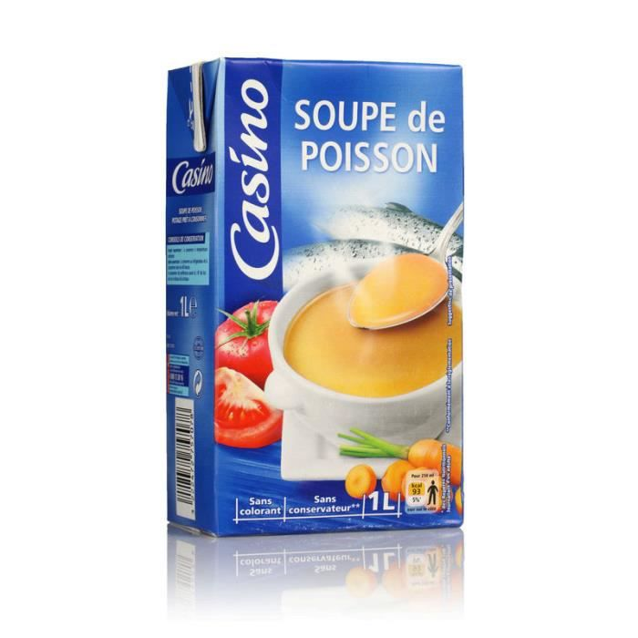Soupe de poisson - 1 L
