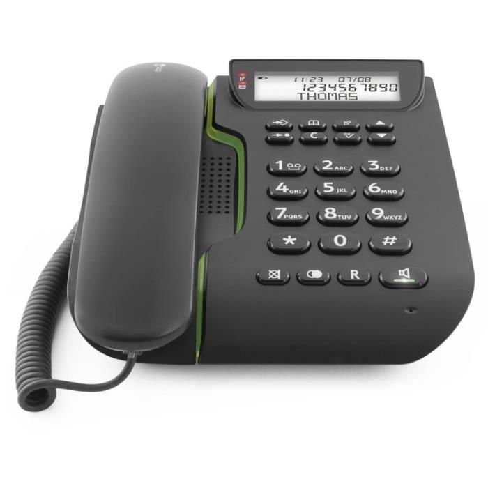 Téléphone filaire DORO - COMFORT 3000 • Téléphone fixe