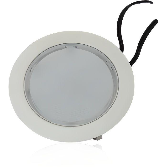 Spot LED encastrable rond 2,5W étanche (Blanc Froid (6000K))