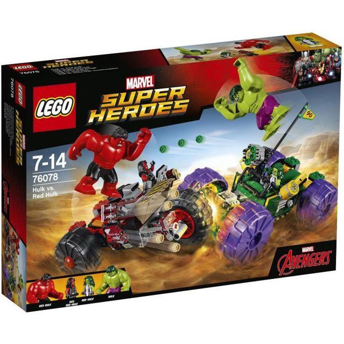 LEGO® Marvel Super Heroes 76078 - Hulk contre Hulk rouge