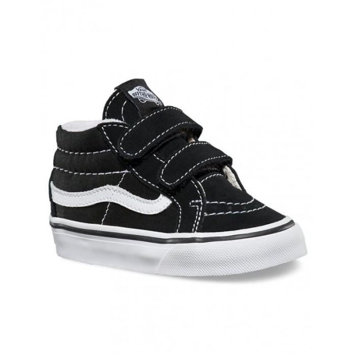 Chaussures Vans T SK8-Mid Reissue V - Black / True White