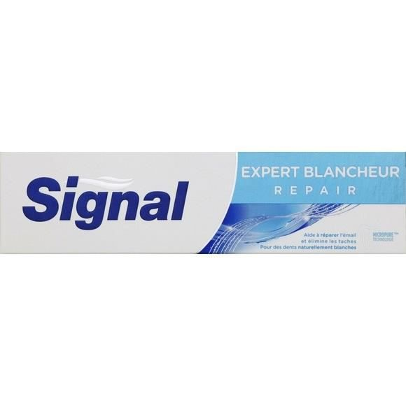 SIGNAL Dentifrice Expert Protection Blancheur éclat - 75ml