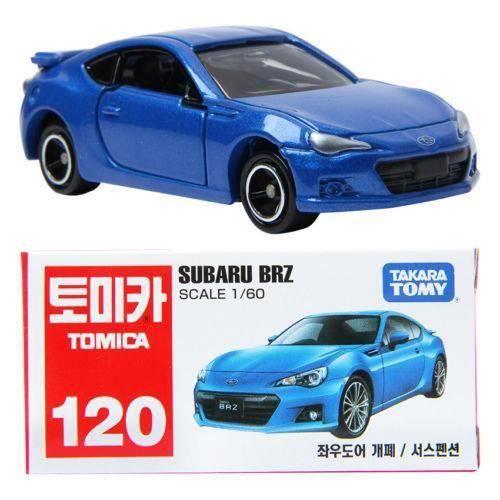 TAKARA TOMY TOMICA 120 SUBARU BRZ 1:60 Diecast Car Vechicle Toy