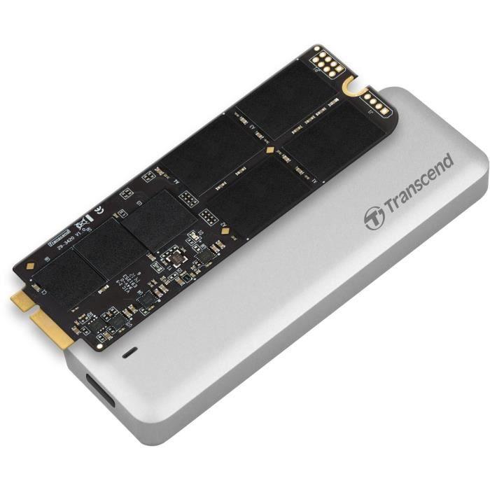 TRANSCEND Kit SSD de mise à niveau APPLE Macbook Pro JetDrive 725 - 480Go - Pour MacBook Pro 15- - M12-E13 - TS480GJDM725