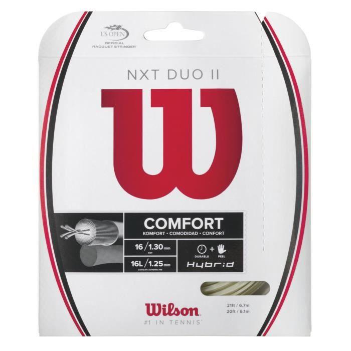Wilson WRZ948900 Cordage de Tennis 16 Gauge