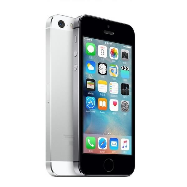 apple iphone 5s 16gb argent debloque tout operateu achat. Black Bedroom Furniture Sets. Home Design Ideas
